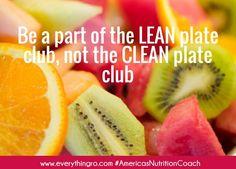 Clean Plate Club