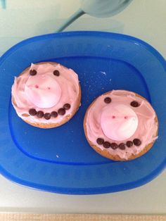"""Pig biscuits """"The lost son"""" Done at our local Messy Church"""