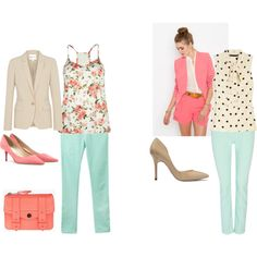 Sophisticated Mint. on Polyvore