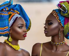 """Editorial: """"African Queens"""" Adesola Adeyemi and Chinelo Ikegbune for Prince Meyson Photography"""