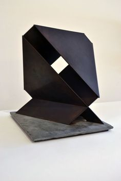 Minimalist Sculpture by Duayne Hatchett | From a unique collection of antique and modern sculptures at https://www.1stdibs.com/furniture/decorative-objects/sculptures/