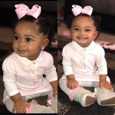 💘💲👑 |pinterest: @BossUpRoyally [Flo Angel {Want Best Pins? #FollowMe }] 👑💲💘 Cute Black Babies, Beautiful Black Babies, Adorable Babies, Beautiful Children, Black Kids Fashion, Baby Girl Fashion, Cute Outfits For Kids, Cute Kids, Baby Kids