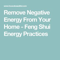 Remove Negative Energy From Your Home - Feng Shui Energy Practices Feng Shui And Money, Feng Shui Tips, Feng Shui Master Bedroom, Feng Shui Floor Plan, Feng Shui Layout, Feng Shui Energy, Feng Shui Principles, Home Detox, Feng Shui House