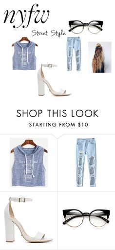 """""""casual outfit"""" by maryjsullivan on Polyvore featuring WithChic, Chicnova Fashion and Schutz"""