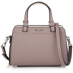 Calvin Klein Sofie Micro Duffle Crossbody Bag (1 040 SEK) ❤ liked on Polyvore featuring bags, handbags, shoulder bags, shoulder duffle bag, brown purse, brown cross body purse, duffle purse and crossbody shoulder bags