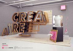 Creare - Academia Criativa on Behance