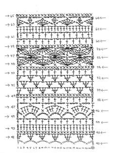Crochet will be a process of fabricating textiles by using a crochet catch to mesh Crochet Diagram, Crochet Chart, Crochet Motif, Crochet Hooks, Knit Crochet, Tricot Simple, Colored Rope, Knitting Blogs, Learn How To Knit