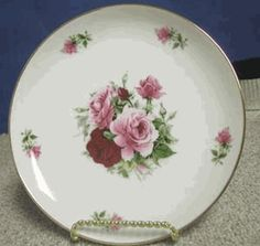 Summertime Pink Dessert Plates - Set of 4  Product #: summ-plates-4-mp  Our Price: $62.97