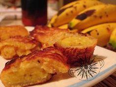 Cocina Costarricense: buñuelos de banano