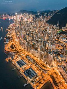 New photography urban city hong kong 70 ideas Hagia Sophia, Landscape Photography, Travel Photography, Hongkong, Skyline, Istanbul, Wanderlust, Cities, Urban City