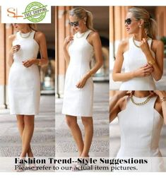 Vfemage Womens Elegant Sleeveless Belted Wear To Work Office Business Party Casual Summer Bodycon Slim Fitted Pencil Dress 6406 Elegant Dresses For Women, Formal Dresses For Men, Sexy Dresses, Fashion Dresses, Dresses For Work, Summer Dresses, Office Dresses For Women, Simple Dresses, Beautiful Cocktail Dresses