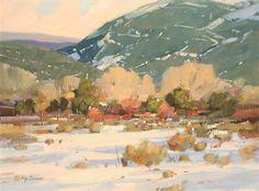 Klimt, Landscape Art, Landscape Paintings, Landscapes, Watercolor Face, Value In Art, Mexico Art, Brown Art, Painting Lessons