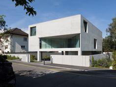 // Villa In Schaan by Bearth & Deplazes Architekten. Photo: Ralph Feiner