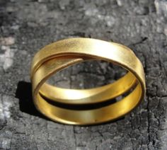 Mimi  18K Gold Ring by AurumJewelry on Etsy, $830.00- I want one in white gold!!!