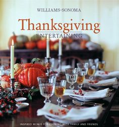 Williams-Sonoma Thanksgiving Entertaining is a complete guide to creating those favorite traditions in your own home. Equal parts cookbook and how-to manual, it presents five menus for entertaining over the Thanksgiving weekend, including three distinctive ideas for the holiday feast.