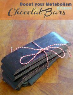 Heerlijke kokosolie chocolade repen om je stofwisseling een extra boost te geven