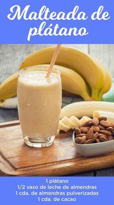 11 Malteadas saludables para hacer tu vida más dulce