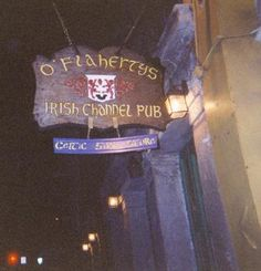 O'Flaherty's; destroyed by Katrina :(   Best Celtic music in New Orleans!