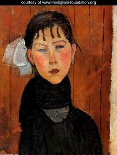 Marie Daughter of the People - Amedeo Modigliani - www.modigliani-foundation.org