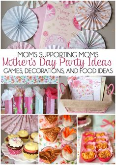 We all need to read this post and plan one of these parties - love the idea of celebrating moms helping other moms!