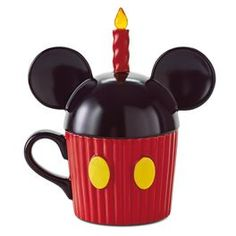 Mickey Mouse Ears Musical Ceramic Mug,