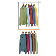 Double Hang® Closet Rod