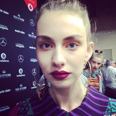 Fashion Beauty at Amsterdam Fashion Week #makeupstudio #makeupstudionl