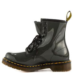 1460 W - Grey Patent Dr Martens $129.99