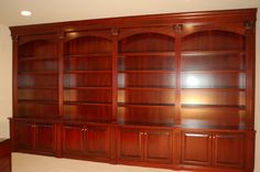 home office/library | Custom Home Office Library - Artisan Custom Bookcases