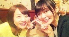 乃木坂46 (nogizaka46) Noujo Ami (能條愛未) with Idoling Asahi Nao (朝日奈央)
