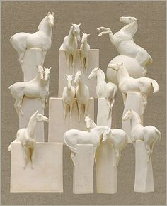 these give me chills-Equinesculptures.com-Susan Leyland