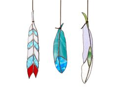 Colin Adrian Stained-Glass Feather | Hostess Gifts | Everywhere