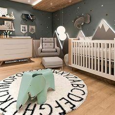 18 New Nurseries To Adore interiordesignsho… - Babyzimmer Ideen Baby Boy Bedding, Baby Bedroom, Baby Boy Rooms, Nursery Room, Kids Bedroom, Baby Room Design, Nursery Inspiration, Baby Decor, Baby Room Decor For Boys