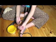 ▶ How To Make A Dreadlock Wig - YouTube