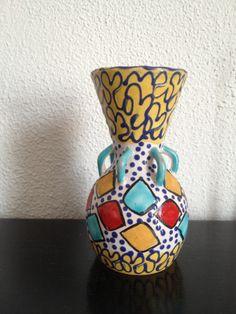 1960s Italian ceramic vase.