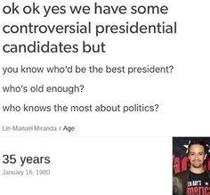 Lin for president