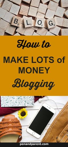Making lots of money blogging takes time, but there are key steps that will help you monetize and grow your blog from the beginning. How to make big bucks blogging will give you tips and strategies to implement to create a successful business and blog that gives you passive income and grows a loyal audience. via @http://www.pinterest.com/penandparent