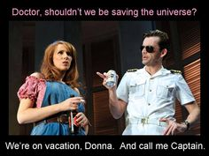 David Tennant and Catherine Tate doing Much Ado About Nothing