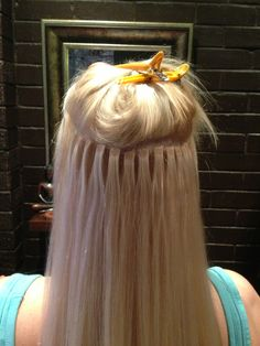 MicroTape Hair Extensions - flat, flexible, invisible www.microtapehairextensions.com