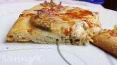 Mein Bester Pizzateig    auf dem Zauberstein von The Pampered Chef                                   Klick für Bilder vom Teigprozess:   ...
