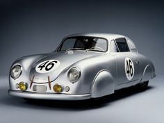 1951 Porsche 356 Light Metal Coupe - about 50 of these aluminium bodied coupes were produced in the Austrian town of Gmund.