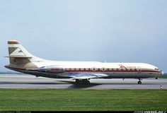 Aviaco, Sud SE-210 Caravelle 10R, Munich - Riem (EDDM) (closed) Germany, June 1973 by SBaviator