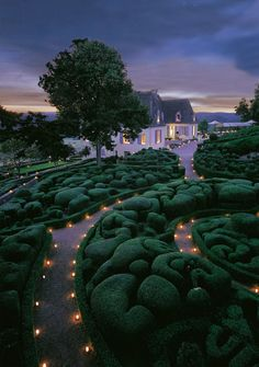 The Beautiful Gardens of Marqueyssac in France