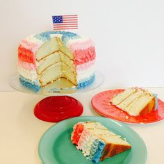 An Impressive 4th of July Cake