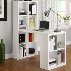 Altra Furniture Hollow Core Hobby Desk with Storage in - The Home Depot