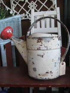 "I used to water my grandma's vegetable garden with one like this. I also watered my mother's flower beds with a similar ""watering can."""