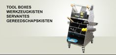 Kerckhaert supplies, from its assortment of tools, several tool cases and toll bags for the farrier.