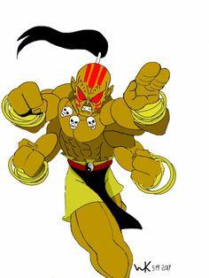 goro(mortal kombat)/dhalsim(street fighter)