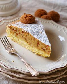 i dolci di laura: Torta di amaretti e caffè