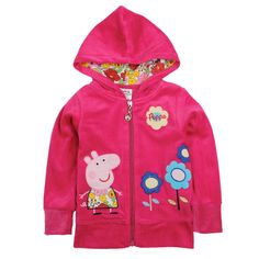 online shopping for novatx Peppa Pig Beautiful Girls Kids Spring Fall Hoody Sweater Jacket,Red, from top store. See new offer for novatx Peppa Pig Beautiful Girls Kids Spring Fall Hoody Sweater Jacket,Red, Sweaters And Leggings, Cute Sweaters, Girls Sweaters, Cardigan Sweaters, Peppa Pig Coat, Pig Girl, Cotton Cardigan, Sweater Fashion, Sweater Jacket